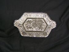 Indiana Glass Clear Tray for Diamond Shape Creamer/Sugar Relish Tray  VGC