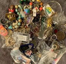 Grab Bag Lot 35 + Plus Keychains Rings FOBS UNIQUE New Vintage Rare Designer Kj