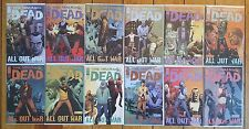 Walking Dead 115-126 Complete All Out War Story 12 NM 1st Print Comics TWD AMC