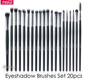 MSQ Eyeshadow Brushes Set 20pcs Makeup Eye Brushes Eyeshadow Blending Brush Lip