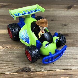 Fisher Price Disney Pixar Toy Story 3 Shake N' Go Woody Talking Race Car 2009