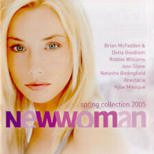 """""""New Woman-Spring 2005""""- 40 Tracks 2CD-Moyet-Cassidy-Kylie-Aguilera-Blue- NEW"""