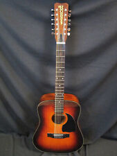 VIntage Hohner G512TS E/A 12-String Acoustic w/Case