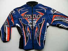 New Wulfsport Sz Xxl Enduro Trials Motocross Jacket Blue Yzf Yz Xcf Exc Sx  Beta