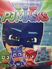 PJ MASKS DUVET SET BEDDING!! SINGLE! BNIP!!