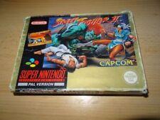 Jeux vidéo manuels inclus français Street Fighter