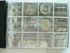 PCCB Coin Holder Album 120 pockets For 5 Ringgit TAR coin and smaller (20X15cm)