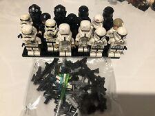 LEGO Star Wars Mini Figures 15 pieces Plus Weapons Bulk Star Wars