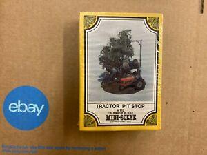 Woodland Scenics HO Mini Scene Pewter Casting Tractor Pit Stop M112 Vintage