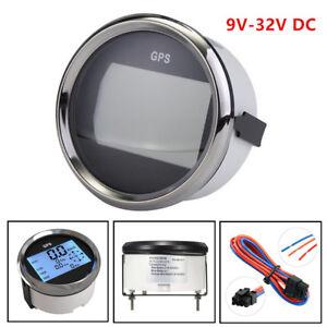 9-32V Waterproof GPS Digital Speedometer Odometer Gauge For Car Truck Boat Sale