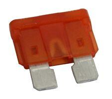 Fusible plat orange MIDI 40A 6V 12V 24V 32V 19mm pour voiture camion utilitaire