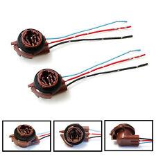 2x 3157 4157 Bulb Socket Brake Turn Signal Light Harness Wire Plug Connector Fits Jeep Liberty