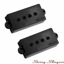 DiMarzio DP122BK 'Model P' P/Precision Bass Pickup Set, Black