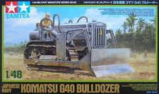 1:48 TAMIYA KIT KOMATSUG40 BULLDOZER JAPANESE NAVY  32565