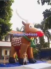 26ft Inflatable Reindeer Christmas Holiday Decoration Most Popular Design CUSTOM