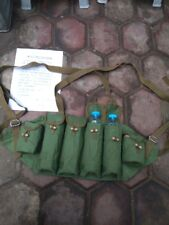 SURPLUS MILITRAY CHINESE TYPE 81 CHEST RIG BANDOLIER AMMO POUCH