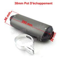 38mm Pot D'échappement Pour 125cc 140 150 160cc Pit Dirt Bike Lifan YX Stomp SDG