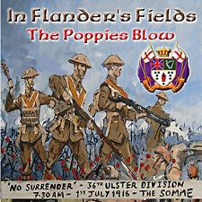 ** In Flanders Fields - The Poppies Blow** -  *NEW* - LOYALIST/ULSTER/ORANGE CD