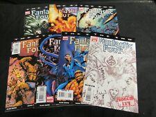 Fantastic Four: The End #1-6 + Variant #1 (2007) Marvel VF/NM 9.0-9.4 G846