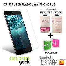 "Cristal templado protector pantalla IPHONE 7 / 8  4.7"" 0,3mm 9H 2.5D.CON PACKAGE"