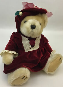 Plush Pickford Bears Pearl The Bear Of Wealth Brass Button Collectible