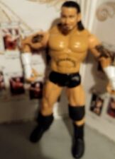 WWE WWF CM Punk Jakks Pacific Wrestling Personaggio 2006 titan tron LIVE + kneepads