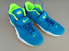 Nike 2013 Air Zoom Turf Jet 97 New Sport Shoe Neon Yellow Turquoise Blue Size 10