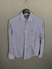 RALPH LAUREN REGENT Shirt - 16.5 - Striped - Great Condition - Men's