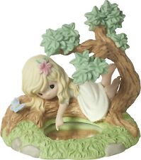 """Precious Moments Girl in a Tree """"You Are The Reflection of His Love"""" Figurine"""