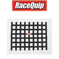 RaceQuip 721005 Ribbon Style Race Car Window Net; Black 18 H X 24 W