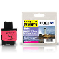 JET TEC B9M HIGH QUALITY REMANUFACTURED BROTHER LC900 MAGENTA INK CARTRIDGE