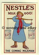 ad3805 - Nestle's Milk - Swiss Milk - Milkman - Modern Advert Postcard