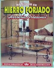 MOBILIARIO EN HIERRO FORJADO - HERRERÍA ARTESANAL 4 TOMOS CON ESTUCHE - ED. DALY