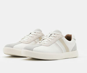 Clarks Un Costa Band White Men's Trainer Shoe Size 10 G Rrp £80