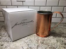 New! $199 Jacob Bromwell 28oz Copper Collector's Cup Mug Beer Stein. Made In USA