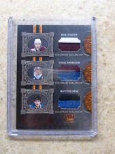 10-11 Panini Crown Royale Lineage DUCHENE STASTNY ANDER