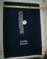 "Golf Bag Towel ,Logo"" Land Mark Resort Myrtle Beach"""