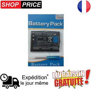 Batterie Li-ion CTR-003 - 2000mAh / 3,7 V  5Wh + tournevis pour Nintendo 3DS.