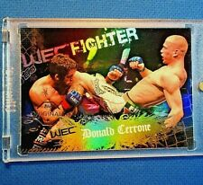 """*DONALD CERRONE* DEBUT >XRARE """"BUY BACK"""" PARALLEL RC< ~2011 TOPPS UFC *(ROOKIE)*"""