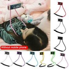 Lazy Hanging Neck Phone Holder Stand Bracket Holder iPhone Samsung Portable X9I5