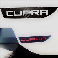 Seat Leon 2006 - 11 Nebelschlussleuchte Aufkleber Cupra Carbon Style Cupra & FR