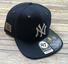 New York Yankees NFL Carhartt X '47 Captain Hat Cap Adjustable Snapback  NEW