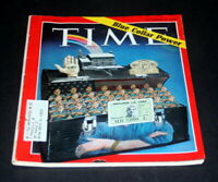 TIME MAGAZINE NOVEMBER 9 1970 EMPLOYEE I.D. CARD