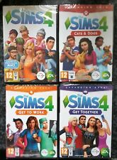 THE SIMS 4 + THREE EXPANSION PACKS PC DVD-ROM/MAC brand new & sealed UK GAME SET