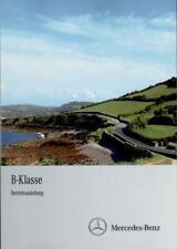 MERCEDES B-Klasse 245 Betriebsanleitung 2010 Bedienungsanleitung Handbuch BA