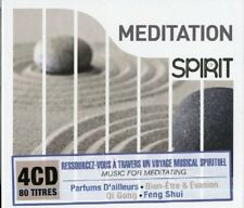SPIRIT OF MEDITATION 4 CD NEUF