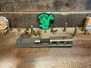 Raptor Series Slide Glock 19 with RMR Serrations  Ports Gen 3 Bronze P80 PF940c