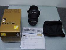 Nikon AF-S DX Nikkor 16-85mm f3, 5-5,6 g ed VR Boxed