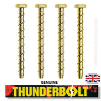 M8 M10 M12 GENUINE THUNDERBOLTS MASONRY CONCRETE ANCHOR SCREW - ALL LENGTHS