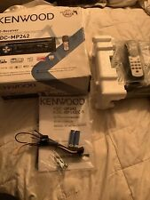 KENWOOD KDC-MP242 CD Player Head Unit In Dash Single DIN Car Stereo Radio Sirrus